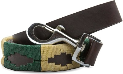 Skora Premium Hand Stitched Leather Dog Leash 5.5 fit 6 cm Dog Strap Leash(Brown)