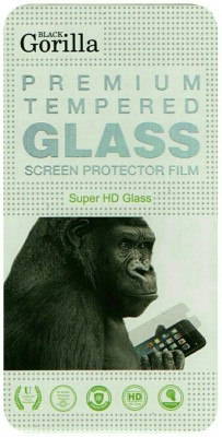 BLACK GORILLA Tempered Glass Guard for Micromax Canvas Amaze 4G Q491