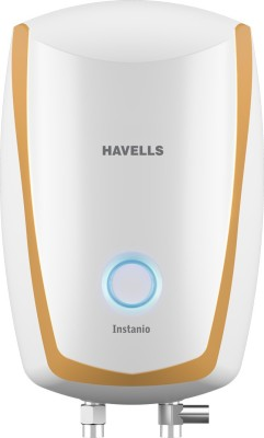 Havells 3 L Instant Water Geyser(White-Mustard, INSTANIO)