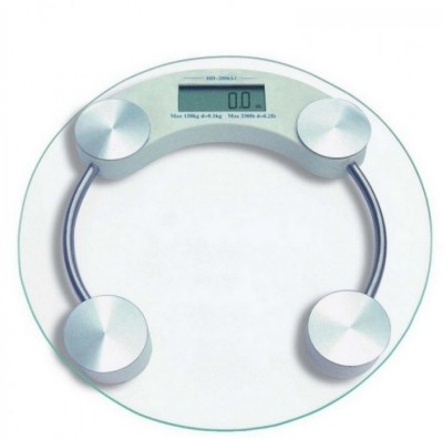 ryna RynaRoundWeightMachine Weighing Scale(Clear1)