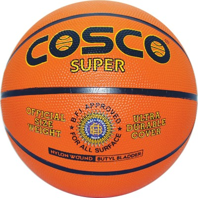 Cosco Super Basketball -   Size: 7(Pack of 1, Multicolor)