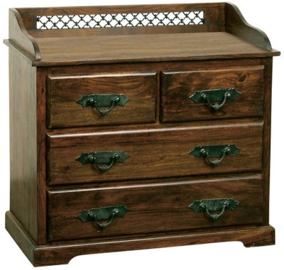 Induscraft Solid Wood Free Standing Cabinet(Finish Color - Brown)