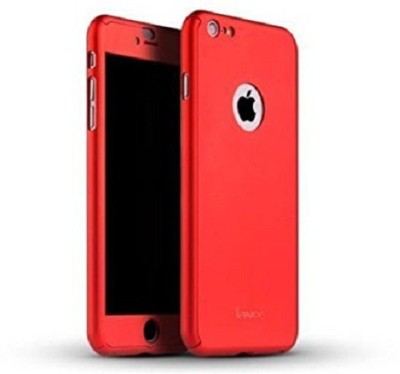 MudShi Front & Back Case for Apple iPhone 5s(Red, Shock Proof, Plastic)