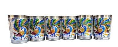 Rastogi Handicrafts p 100024 Glass Set 250 ml, Steel Rastogi Handicrafts Glasses
