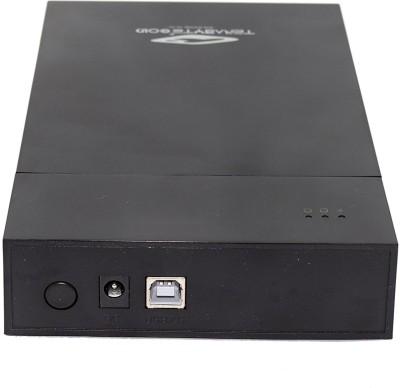 Digimart TB 2 in 1 Desktop and Laptop 3.5 inch and 2.5 Inch Sata Hard Disk Casing Enclosure(For laptop, Desktop, Black)