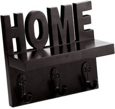 Artesia Home Key Holder Wooden Wall Shelf(Number of Shelves - 1, Brown)  available at flipkart for Rs.665