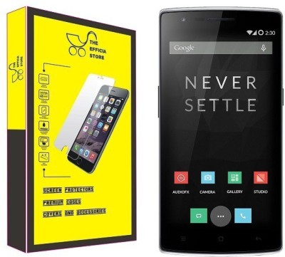 Efficia Tempered Glass Guard for OnePlus One(Pack of 1)