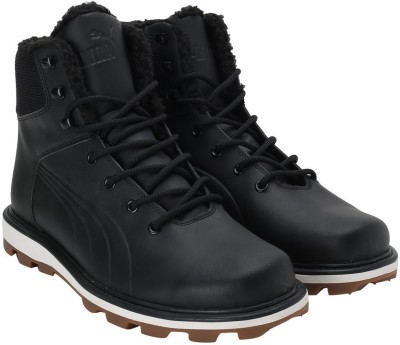 Puma Boots For Men(Black) at flipkart