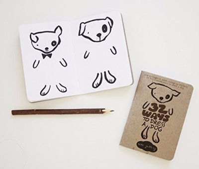 Wee Gallery Activity Book, 32 Ways To Dress A Dog