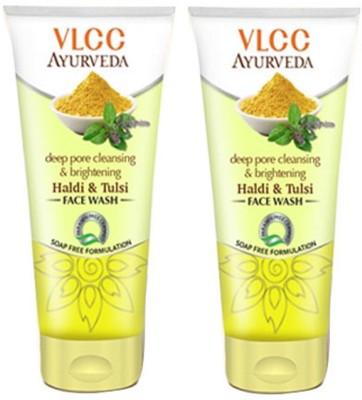 VLCC Ayurveda Deep Pore Cleansing & Brightening Haldi & Tulsi Facewash Face...