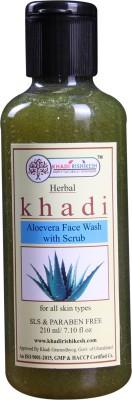 Khadi Rishikesh Herbal Aloevera Face Wash 210 ml