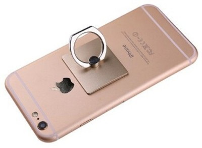 A-ONE RETAIL Ring Stand Holder/Mobile Phone Ring Stent/Guard Against Theft Clasp/360 Degree Rotating Metal Ring Holder Mobile Phone Stand For any Device - Gold Mobile Holder