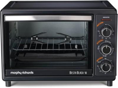 Morphy Richards OTG Besta 18 Lts Oven Toaster Grill Black