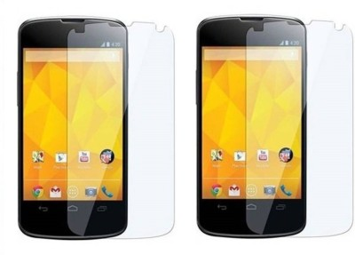 Loopee Tempered Glass Guard for Lg nexus 4(Pack of 2)