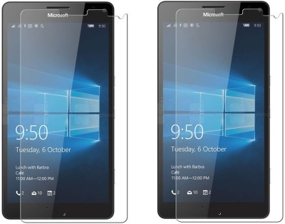 Cowboy Tempered Glass Guard for Microsoft Lumia 1320(Pack of 2)