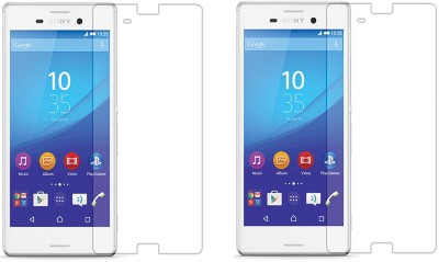 Loopee Tempered Glass Guard for Sony xperia z3-pLus(Pack of 2)