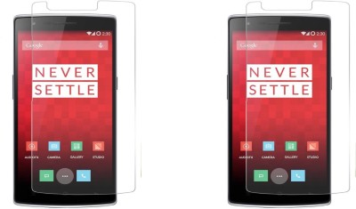 Cowboy Tempered Glass Guard for Google OnepLus 1(Pack of 2)
