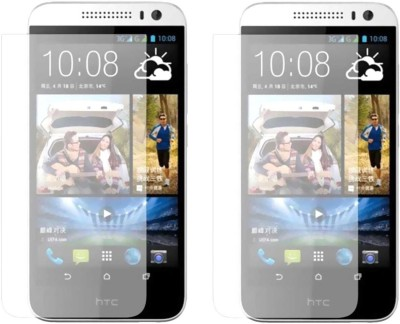 Loopee Tempered Glass Guard for Htc desire 616 duaL sim(Pack of 2)