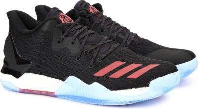 new styles 541b3 a5279 45% OFF on ADIDAS D ROSE 7 LOW Basketball Shoes For Men(Black) on Flipkart   PaisaWapas.com