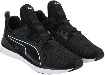 Puma Training & Gym Shoes For Women(White, Black) at flipkart