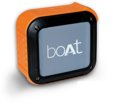 boAt Stone 200 Water Proof 3 W Portable Bluetooth Speaker(Orange, Mono Channel)