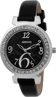 Abrexo ABX5018 Crystal Studded Analog Watch For Women