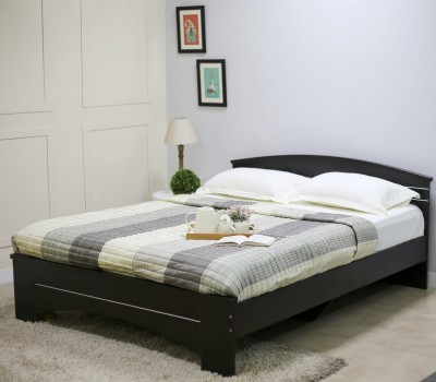 Spacewood Maxima Engineered Wood Queen Bed(Finish Color -  Melamine)