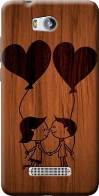 Fashionury Back Cover for Micromax Canvas Spark 3 Q385(Multicolor, Flexible Case)