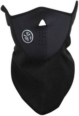 xeekart Winter Windproof Neoprene Half Face Mask DustProof Bike Riding Mask balaclava Anti Pollution Bike Face Mask Neck Warmer With Filter 1 Neoprene Mask Black Mask  available at flipkart for Rs.190