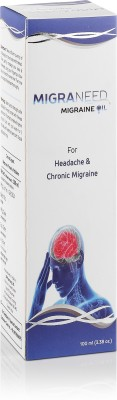 HealthVit Migraneed Migraine Oil For Headache & Chronic Migraine 100ml ( 3.38oz )(100 ml)