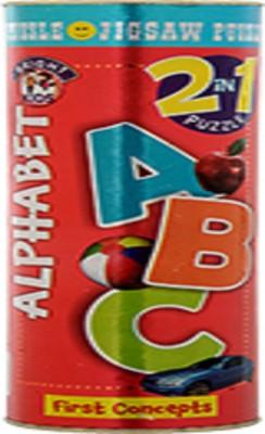 BPI BRIGHT KIDS 2 IN 1 PUZZLE ALPHABET(1 Pieces)