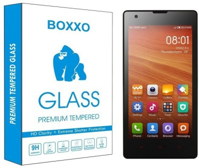 Boxxo Tempered Glass Guard for Xiaomi Mi Redmi 1s
