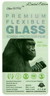 NINE H Tempered Glass Guard for Nokia Lumia 1520(Pack of 1)