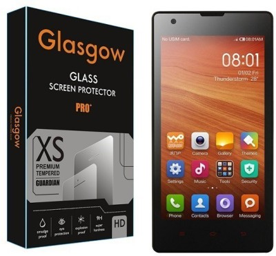 Glasgow Tempered Glass Guard for Mi Redmi 1S(Pack of 1)