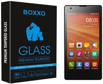 Boxxo Tempered Glass Guard for Mi Redmi 1S(Pack of 1)
