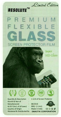 RESOLUTE Tempered Glass Guard for Samsung Galaxy Core 2(Pack of 1)