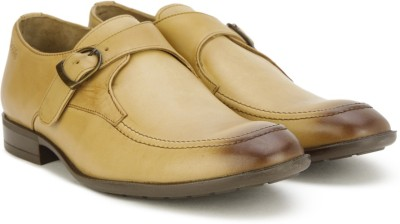 45 Off On Woods By Woodland Monk Strap Shoes For Men Tan On