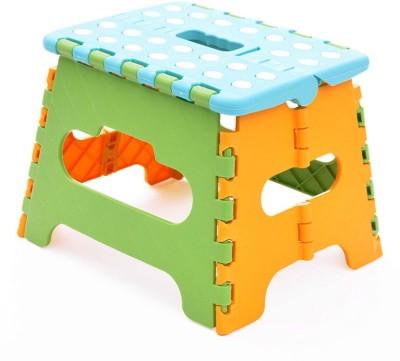 Dragon Plastic folding handy Bathroom Stool(Blue, Green, Orange)
