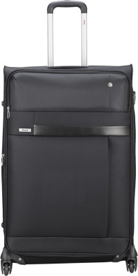 VIP Cyprus Expandable  Check-in Luggage - 27 inch(Black) at flipkart