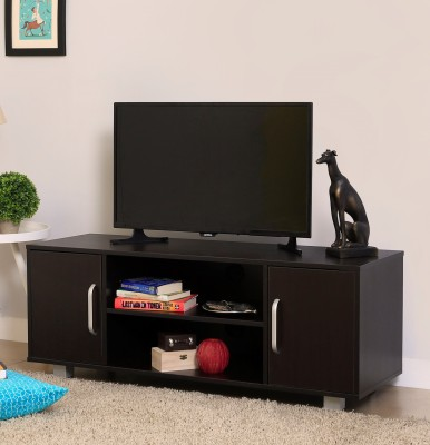 Spacewood Engineered Wood TV Entertainment Unit(Finish Color - Natural Wenge)