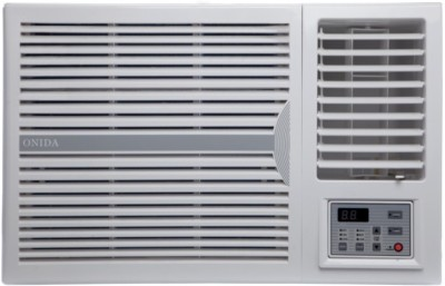 Onida 1.5 Ton 3 Star BEE Rating 2017 Window AC  - White(WA183FLT, Copper Condenser)