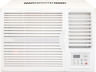 Onida 1.5 Ton 5 Star BEE Rating 2017 Window AC - White(WA185FLT, Copper Condenser) 1