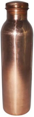 73e334f41a FASHION PRANI JOINT LESS PLAIN COPPER BOTTLE 1000 ml Bottle(Pack of 1, Brown