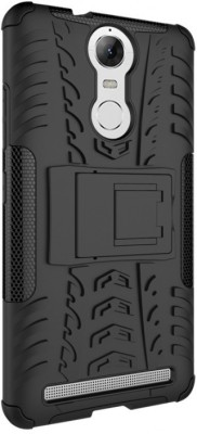 Cover Alive Back Cover for Lenovo Vibe K5 Note(Black, Shock Proof)