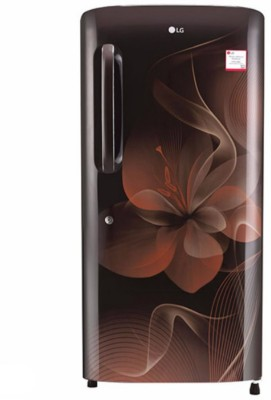 LG 215 L Direct Cool Single Door 4 Star Refrigerator(Hazel Dazzle, GL-B221AHDX) at flipkart