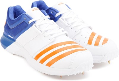 3bc475774ee 25% OFF on Adidas ADIPOWER VECTOR Cricket Shoes For Men(White) on Flipkart