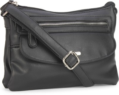 60% OFF on Lavie Women Casual Black PU Sling Bag on Flipkart ... d69dc2559fd25
