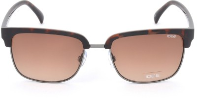IDEE Rectangular Sunglasses(Brown)