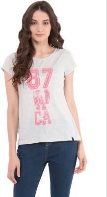 The Vanca Casual Half Sleeve Solid Women