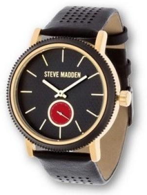 Steve Madden SMW030G-BK Fashion Analog Watch For Women